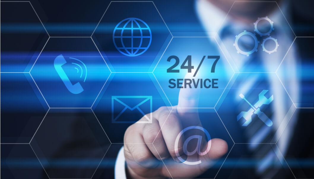 24-7 customer service