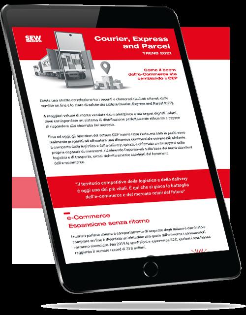 Courier, Express and Parcel Trend 2021 - Come il boom dell'e-Commerce sta cambiando il CEP
