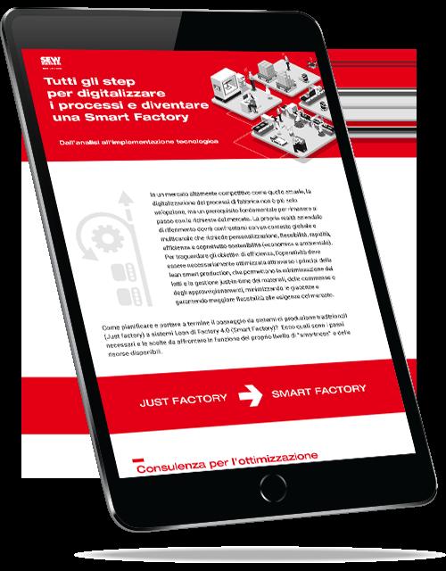 Tutti gli step per digitalizzare i processi e diventare una Smart Factory