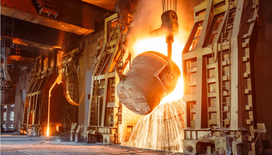 impianto siderurgico